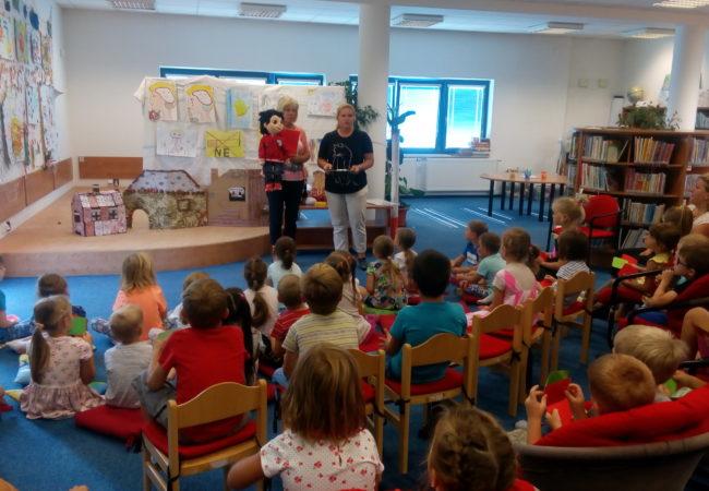 Poděkování Městské knihovně Tišnov