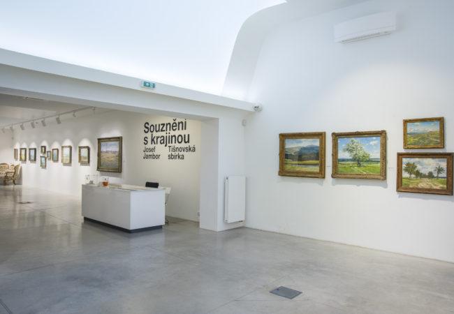 Galerie Josefa Jambora v lednu 2019
