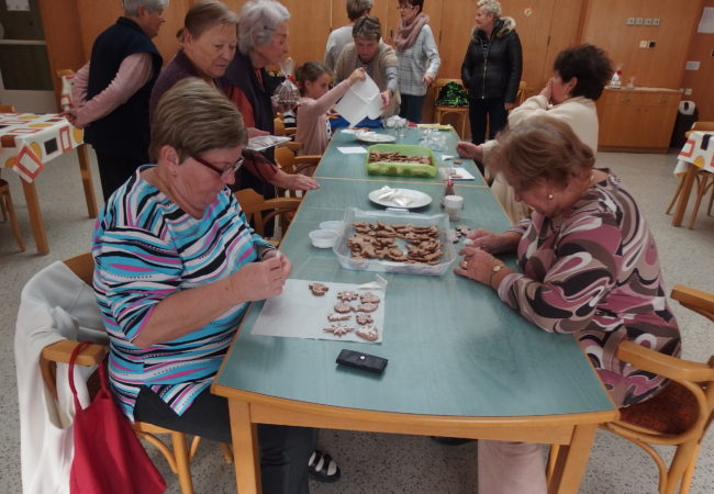 Příprava naadvent 2018 – Centrum sociálních služeb Tišnov