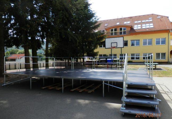 Mobilní pódium pro obce Tišnovska