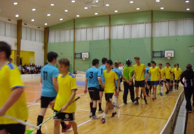 Opět nás navštívili Sportovci ze slovenské partnerské školy