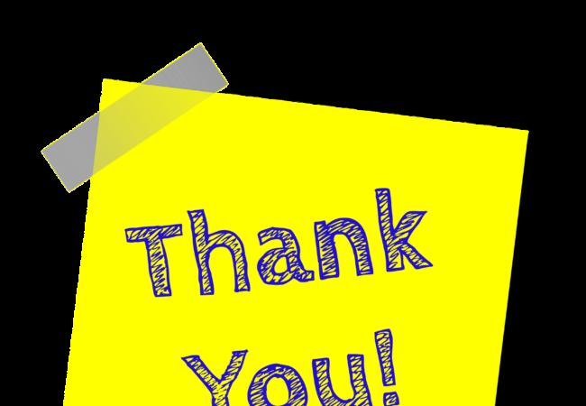 Poděkování pracovníkům Tišnovské televize