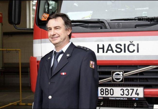Hasič Jiří Oharek je Gentleman silnic