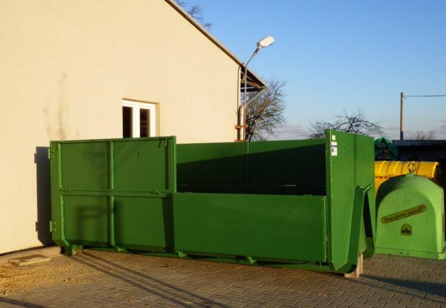 Kontejnery na separované druhy odpadu