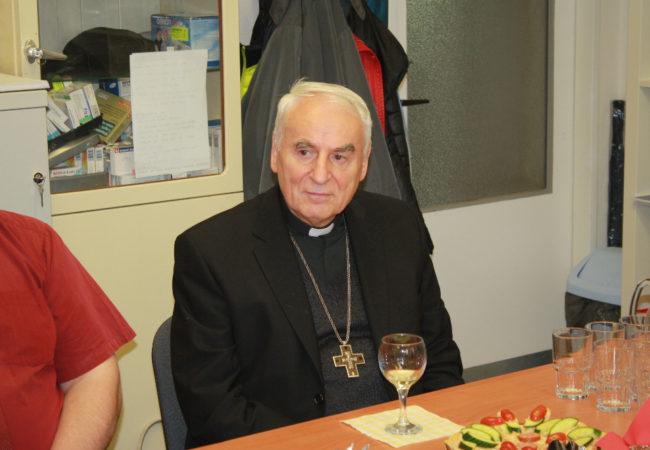 Biskup Cikrle: Humor je známkou vnitřní pohody