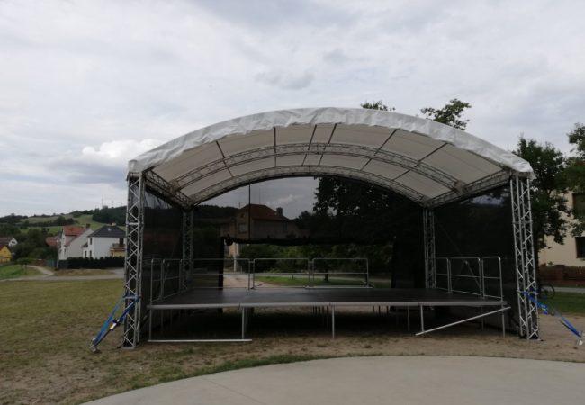 Mobilní pódium pro obce svazku Tišnovsko
