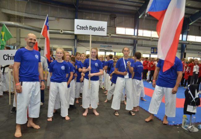 Tišnovské karate namistrovství světa