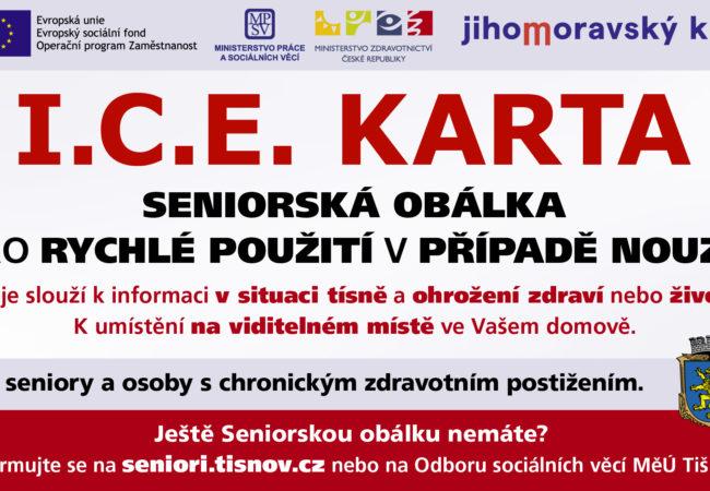 I.C.E KARTA zachraňuje životy