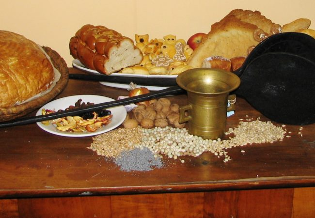 Tradiční pokrmy na večeři Štědrého dne