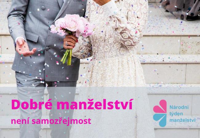 Podporujeme Národní týden manželství