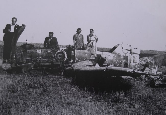 Pády letadel na konci války