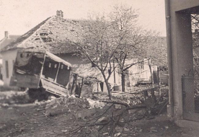 Nálet naTišnov 25. dubna 1945