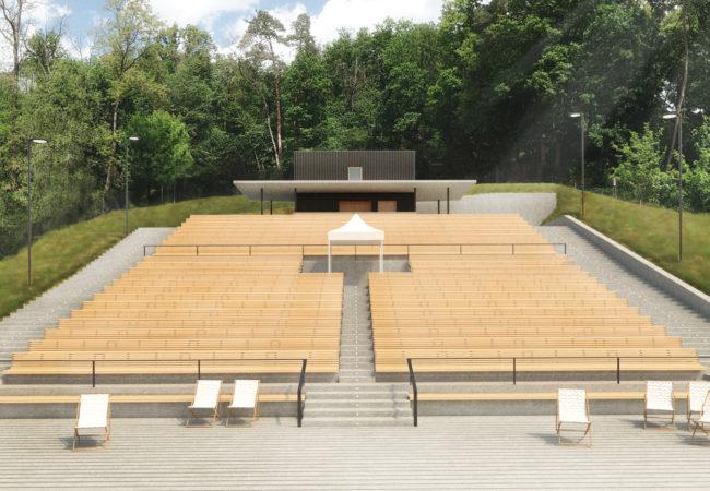Rekonstrukce letního kina 50 let po otevření