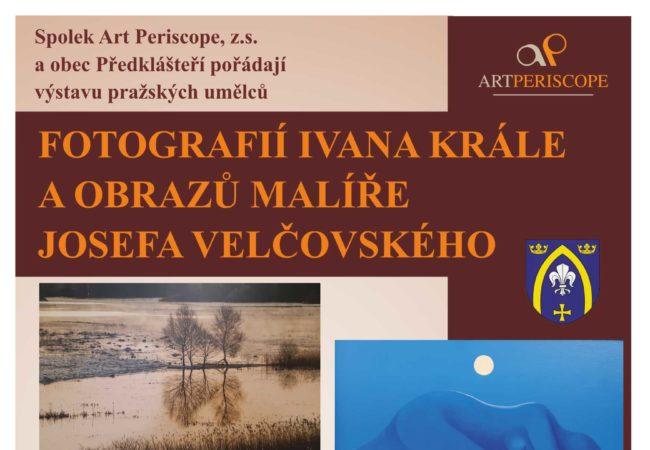 Výstava pražského fotografa a malíře