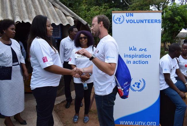 Den dobrovolníka UNICEF vZambii