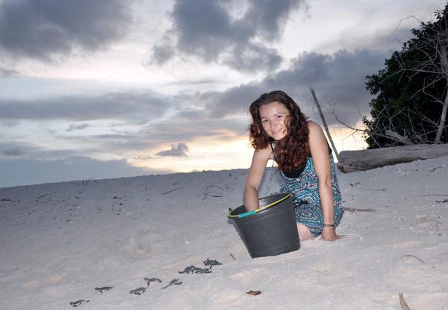 Ochrana mořských želv přímo vTišnově (?)