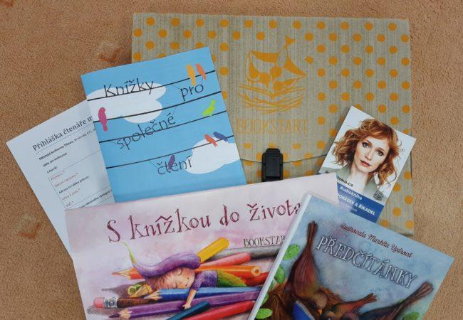 Dárkové sety pro miminka vknihovně