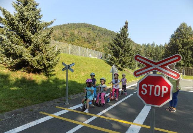 Dopravní dopoledne dětí ze Sluníčka