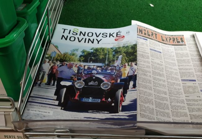 Kde jsou dostupné Tišnovské noviny