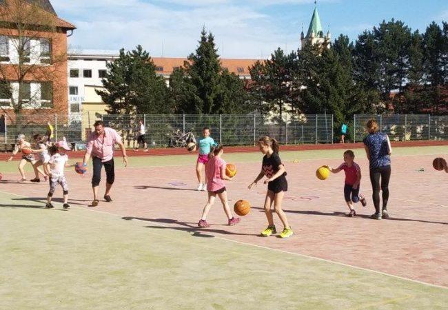 Basketbalová mládež znovu pohromadě